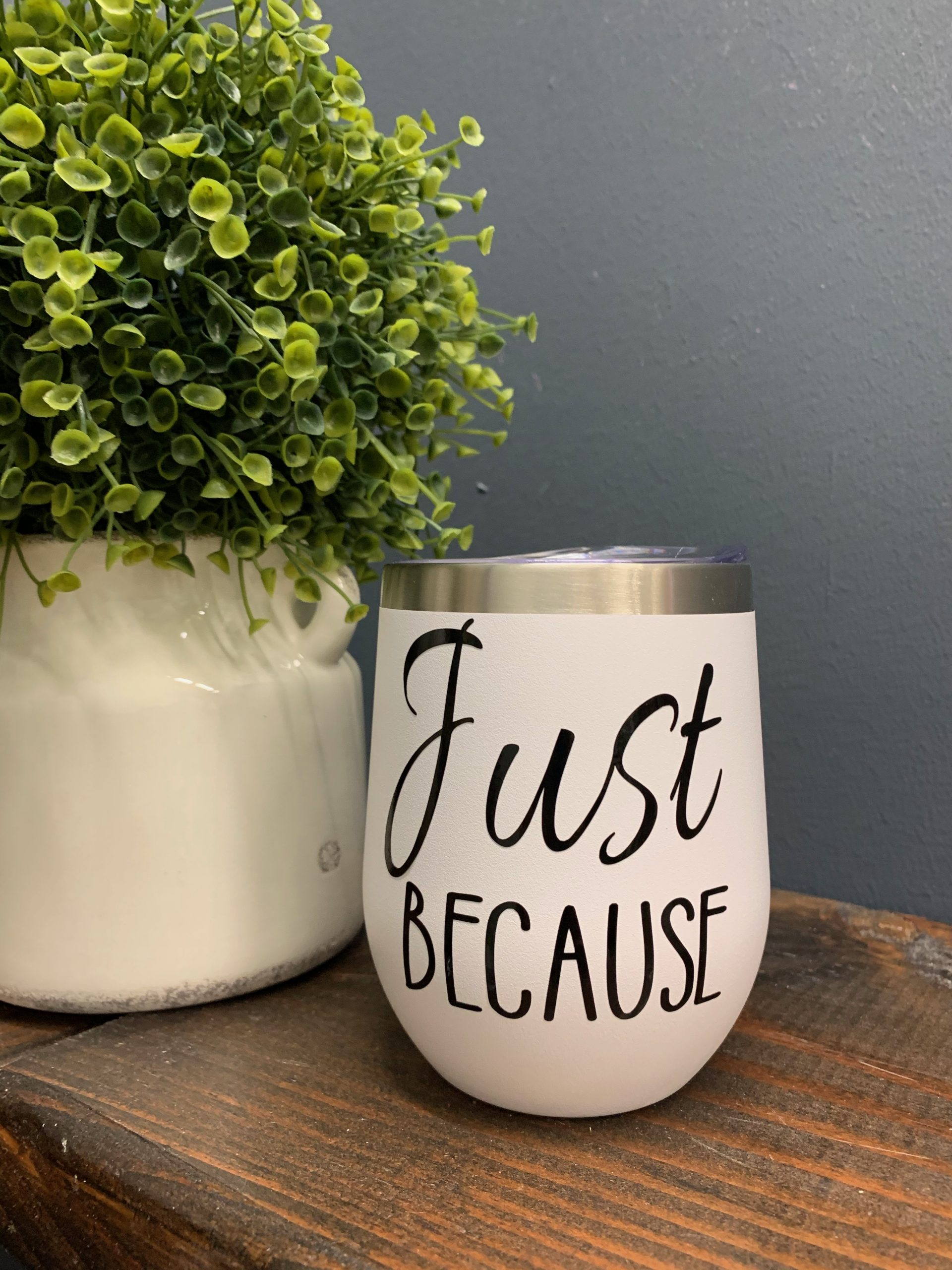 custom quote wine tumbler